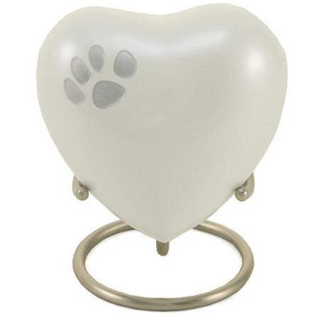 Odyssey Pearl Heart Keepsake-Memorials-Personalized-Sorrento Valley Pet Cemetery