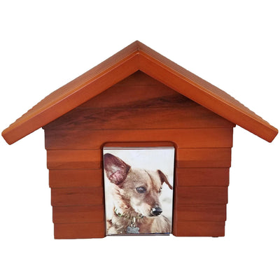 Doghouse Urn One size for all pets-Urns-Redwood-None-Sorrento Valley Pet Cemetery