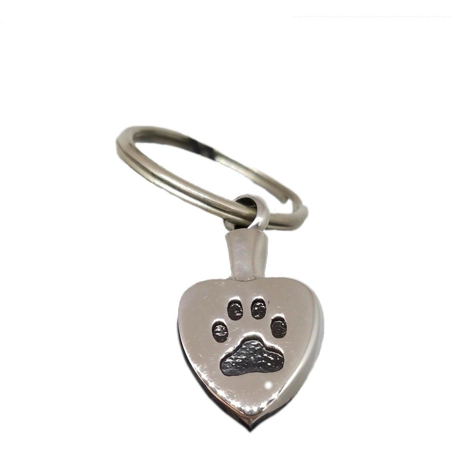 Key Chain Urn with a Pawprint