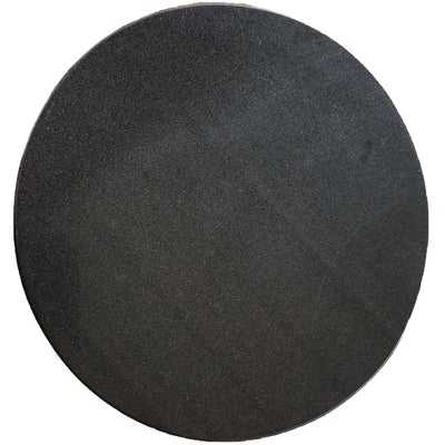 Round Granite Tile + Engraved