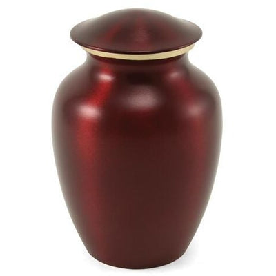 Classic Pet Crimson-Urns-Small (85)-Sorrento Valley Pet Cemetery
