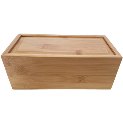 Bamboo Box Urn - Slide Lid-Urns-Large-Personalize-Sorrento Valley Pet Cemetery