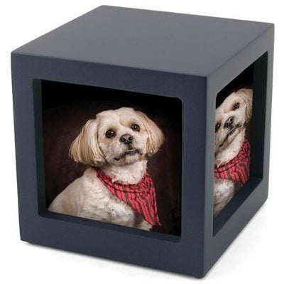 Photo Cube - Navy Blue