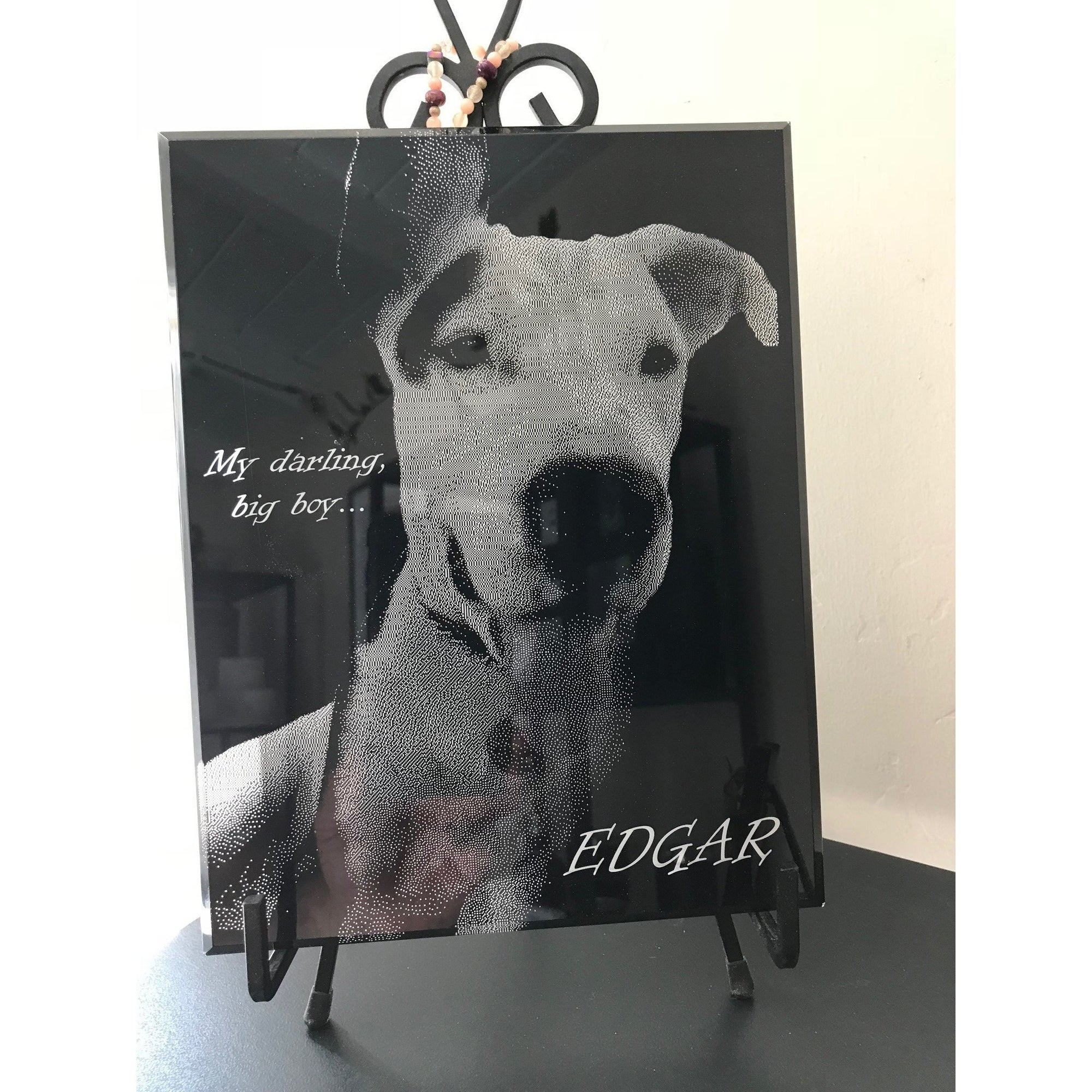 Large Acrylic Plaque + Engraved