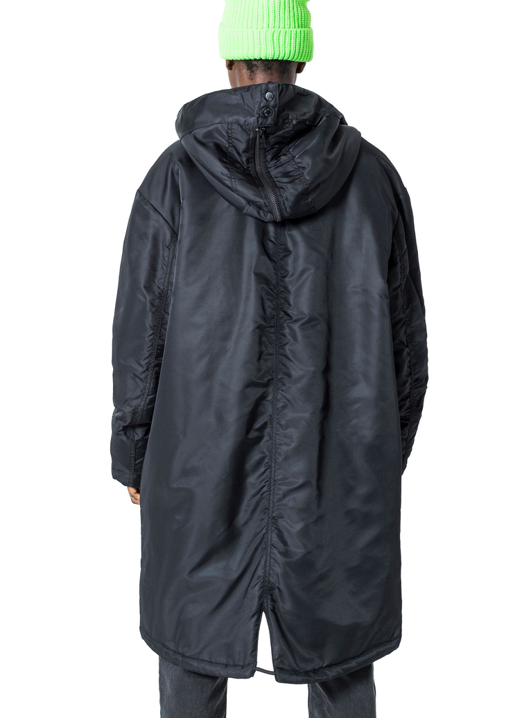 Cheap Monday Fanatic Parka (Black) - ChicStyle