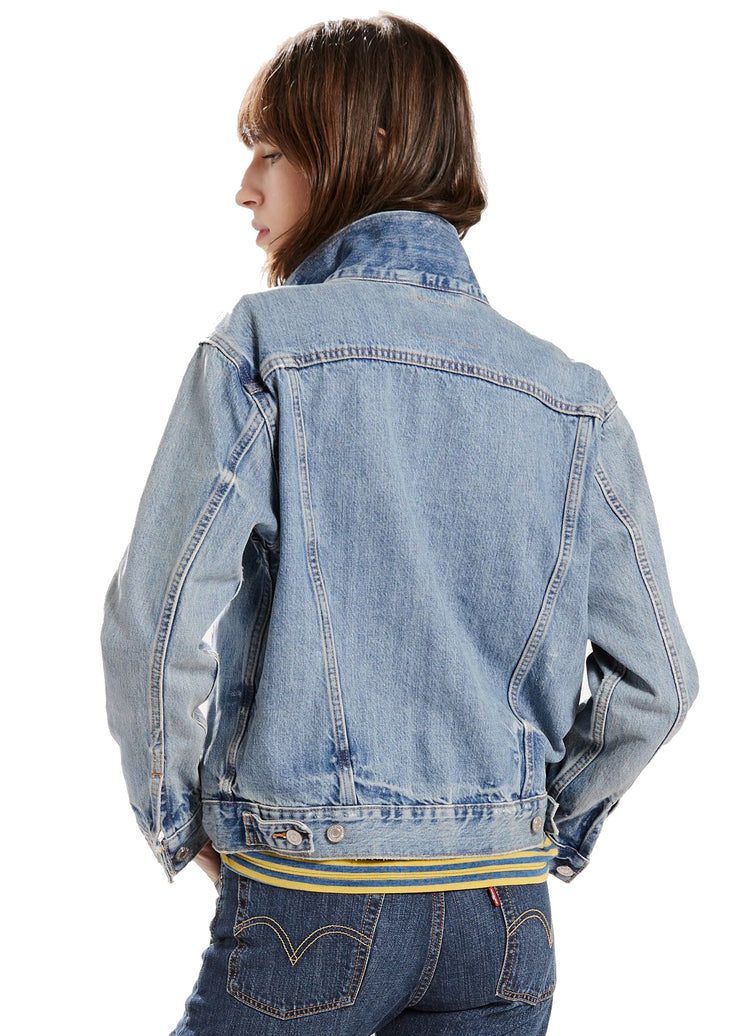 Levi's Ex Boyfriend Trucker (Dream Of Life) - ChicStyle