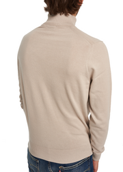 Ben Sherman Fine Gauge Roll Neck (Grey) - ChicStyle