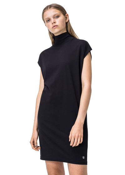 Cheap Monday Cap Dress (001 Black) - ChicStyle