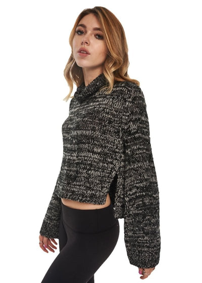 MINKPINK Duchess Full Sleeve Sweater (Charcoal Marle) - ChicStyle