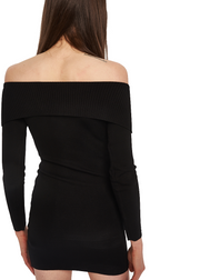 MINKPINK Hold Tight Corset Knit Dress (Black) - ChicStyle