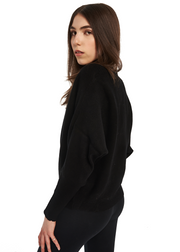 Just Female Home Knit (Black) - ChicStyle