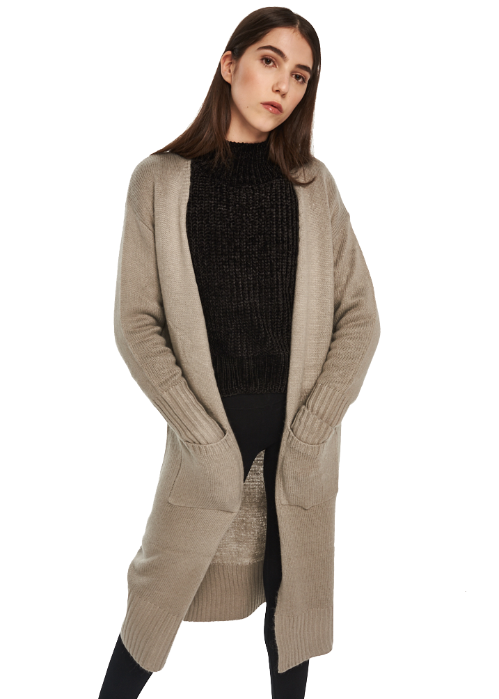 MINKPINK Labyrinth Cardigan (Grey) - ChicStyle