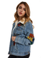 Glamorous Ladies Denim Jacket (Blue) - ChicStyle