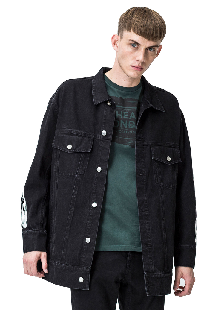 Cheap Monday Mega Jacket (Black) - ChicStyle