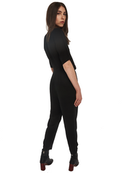 Just Female Nao SS Jumpsuit (Black) - ChicStyle