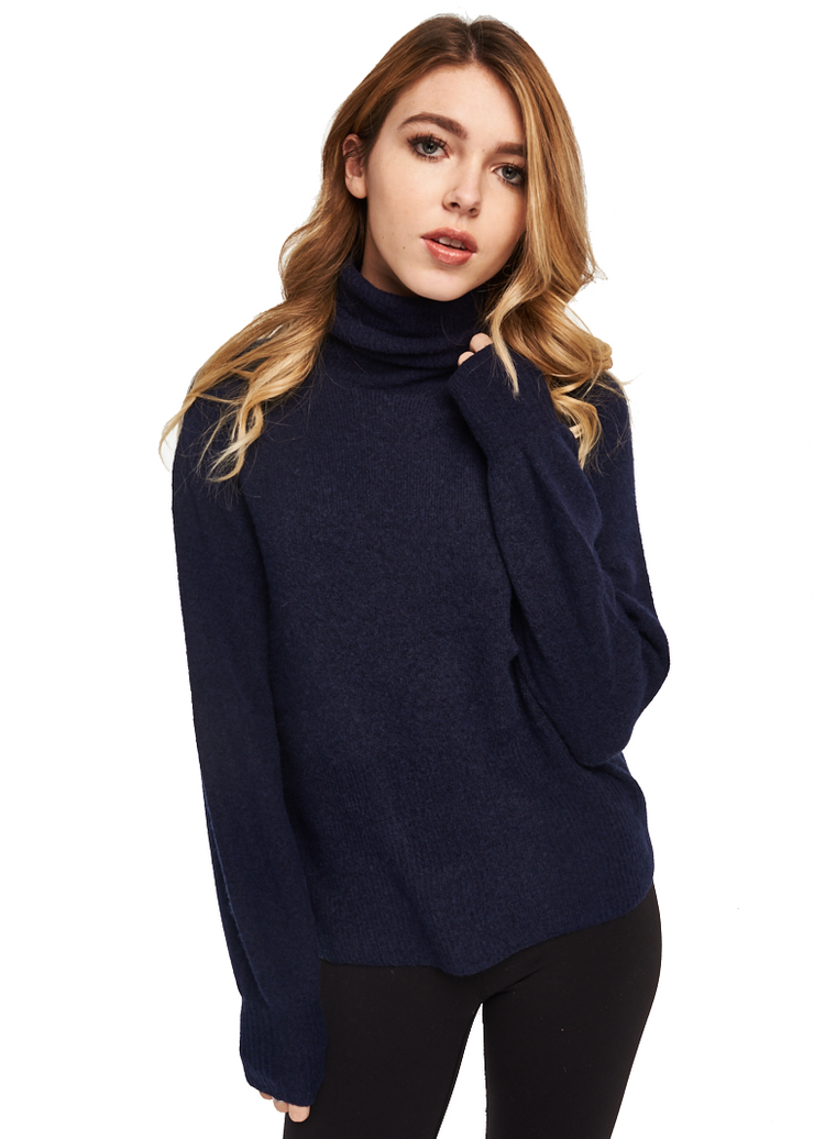 Just Female Phoebe Knit (Eclipse Blue) - ChicStyle