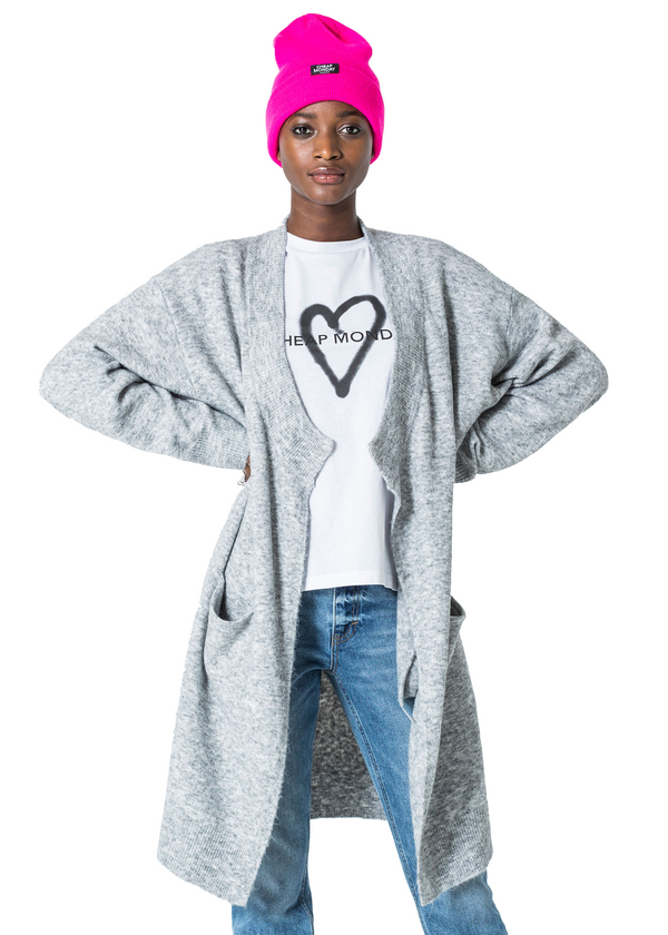 Cheap Monday Regard Cardigan (Grey) - ChicStyle
