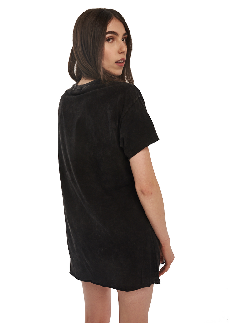 MINKPINK Ride Hard Tee Dress (Black) - ChicStyle