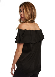Just Female Senso Off Shoulder (Black) - ChicStyle