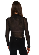 MINKPINK Silver Linings Top (Black) - ChicStyle