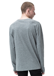 Cheap Monday Standard Long Sleeve *Organic Tee (Grey Melange) - ChicStyle