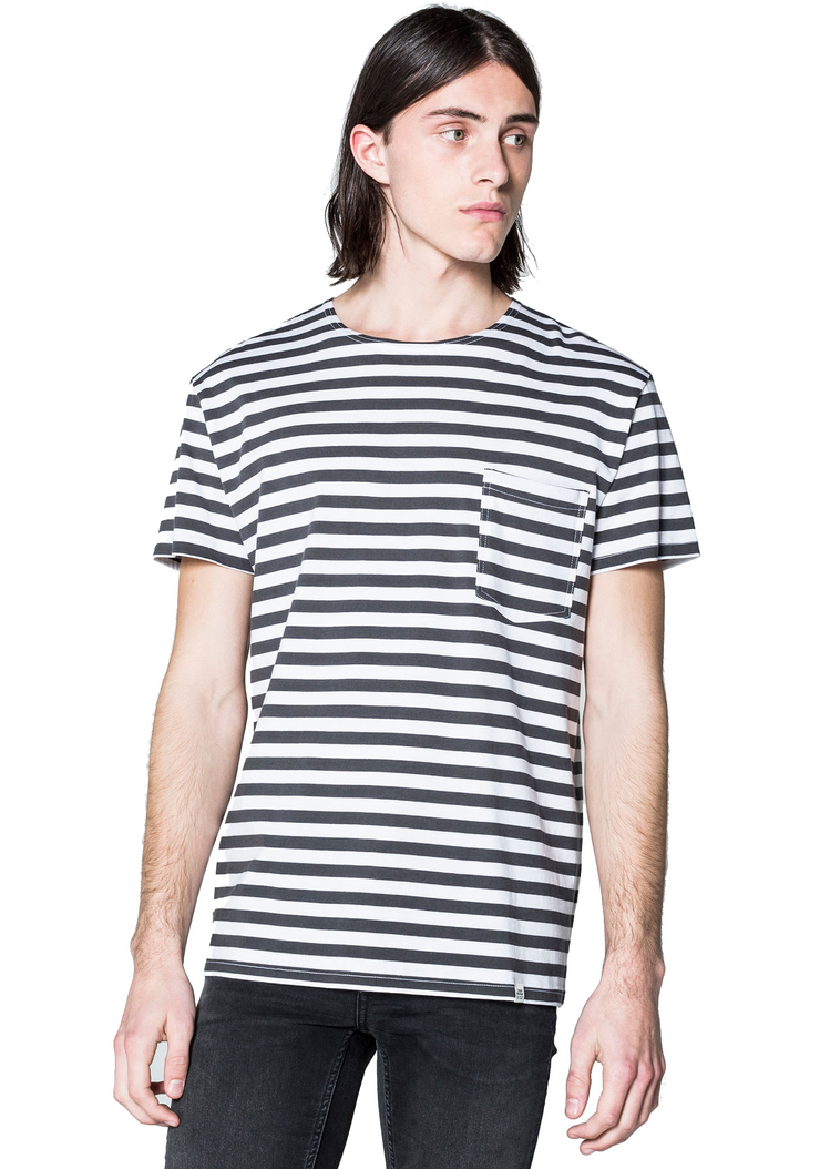 Cheap Monday Standard Prep *Organic Tee (White) - ChicStyle