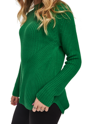 Just Female Star Knit (Amazon/Green) - ChicStyle
