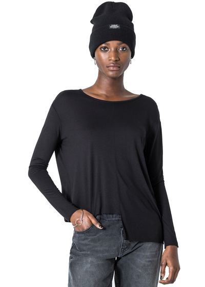 Cheap Monday Surplus *Organic Top (Black) - ChicStyle
