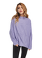 Just Female Turo Cable Knit (Purple) - ChicStyle