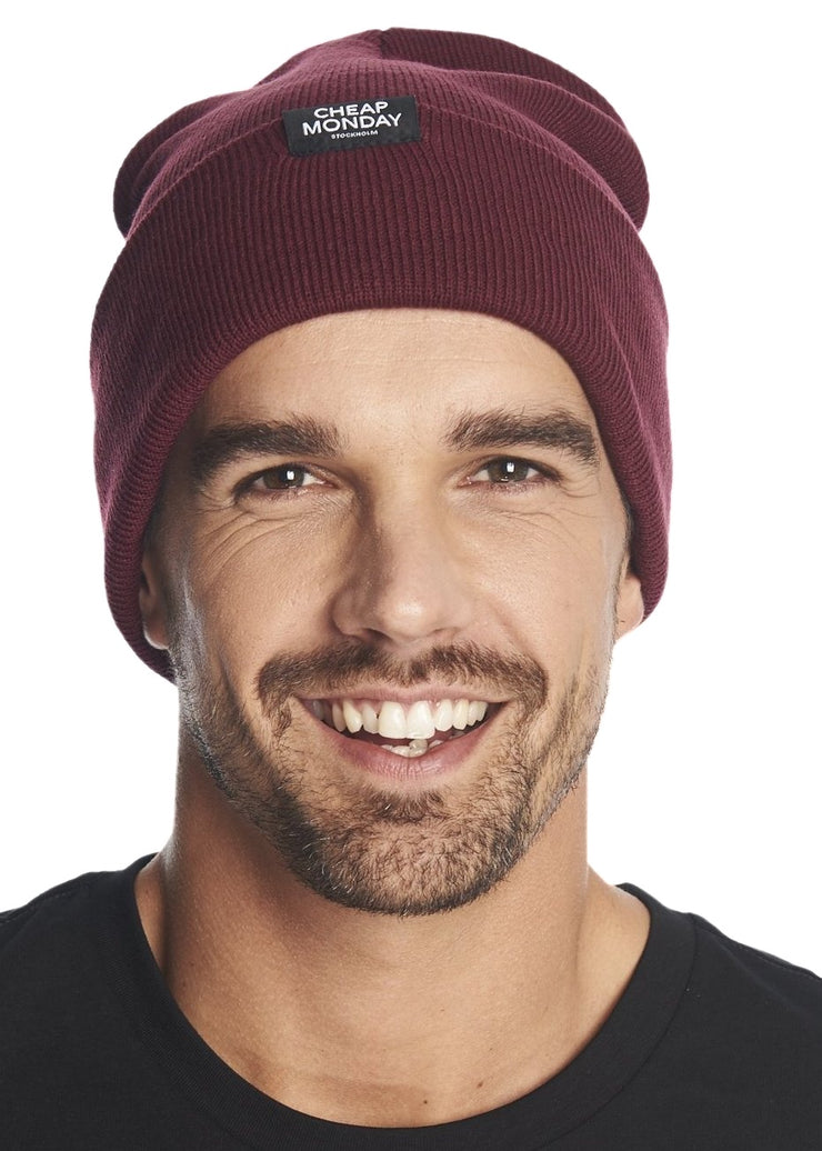 Cheap Monday Cheap Beanie (Blood Red) - ChicStyle