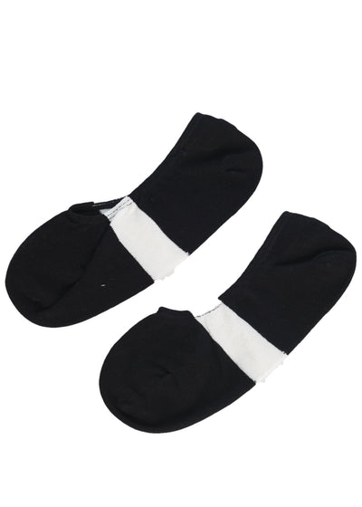 N/A Loafer Socks (Black) - ChicStyle