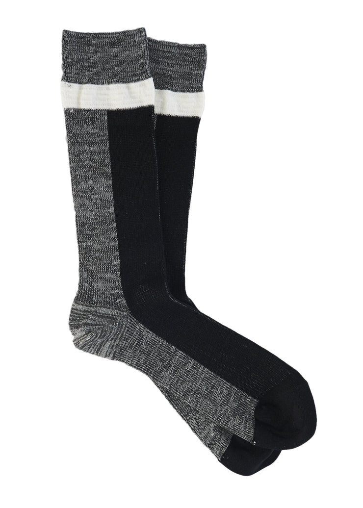 N/A Mid Calf Socks (Grey) - ChicStyle