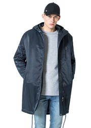 Cheap Monday Alert Parka (Navy) - ChicStyle