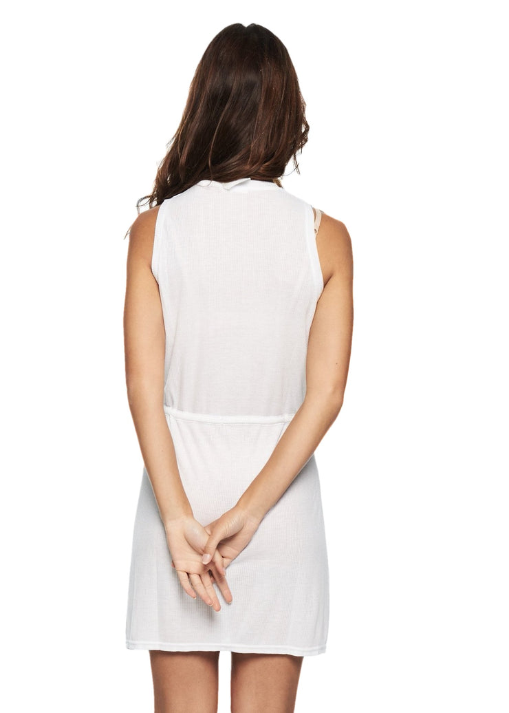Cheap Monday Fellow Dress (White) - ChicStyle