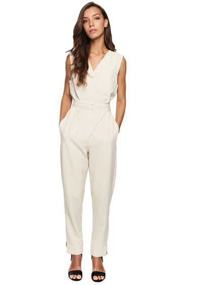 Just Female Gilda Jumpsuit (Light Sand) - ChicStyle