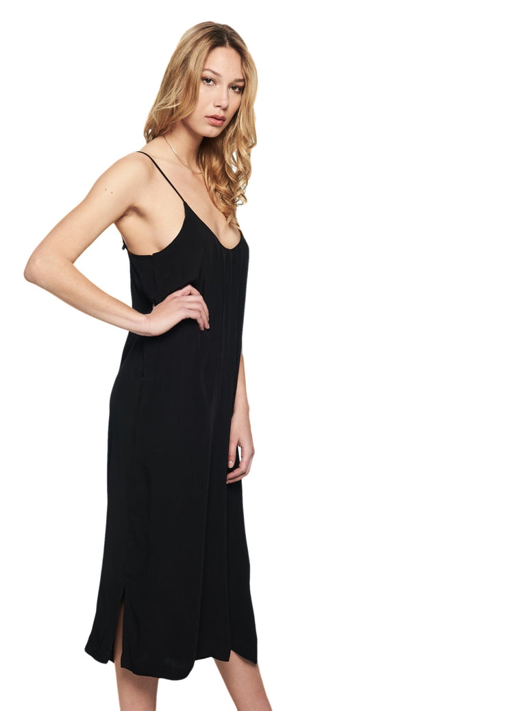 Just Female Trista Singlet Dress (Black) - ChicStyle