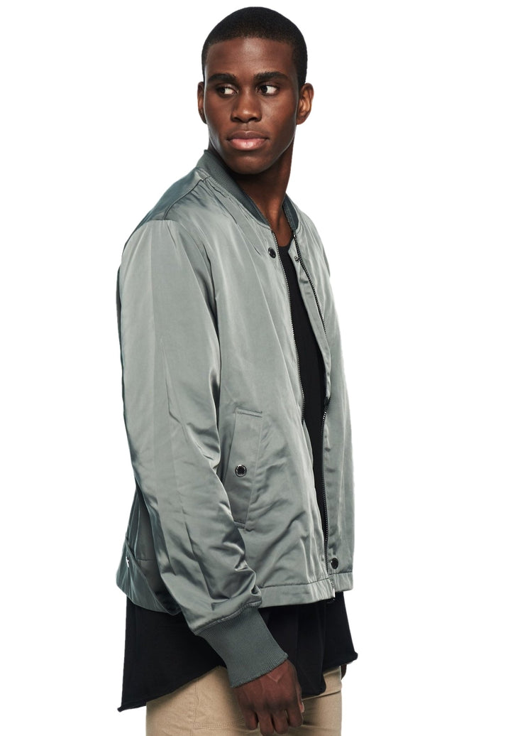 Cheap Monday Beat Bomber (Leaf Green) - ChicStyle