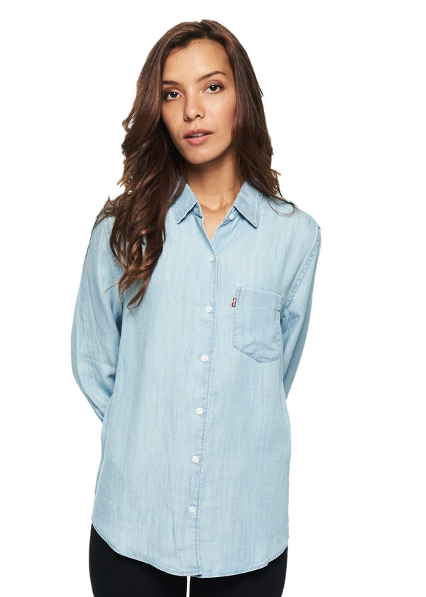 Levi's Sidney 1 Pocket Boyfriend (Light Mid Wash) - ChicStyle
