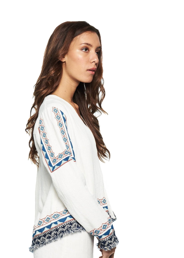 MINKPINK Snake Charmer Jacket (White) - ChicStyle
