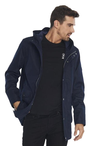 Ben Sherman Technical Parka (Navy) - ChicStyle
