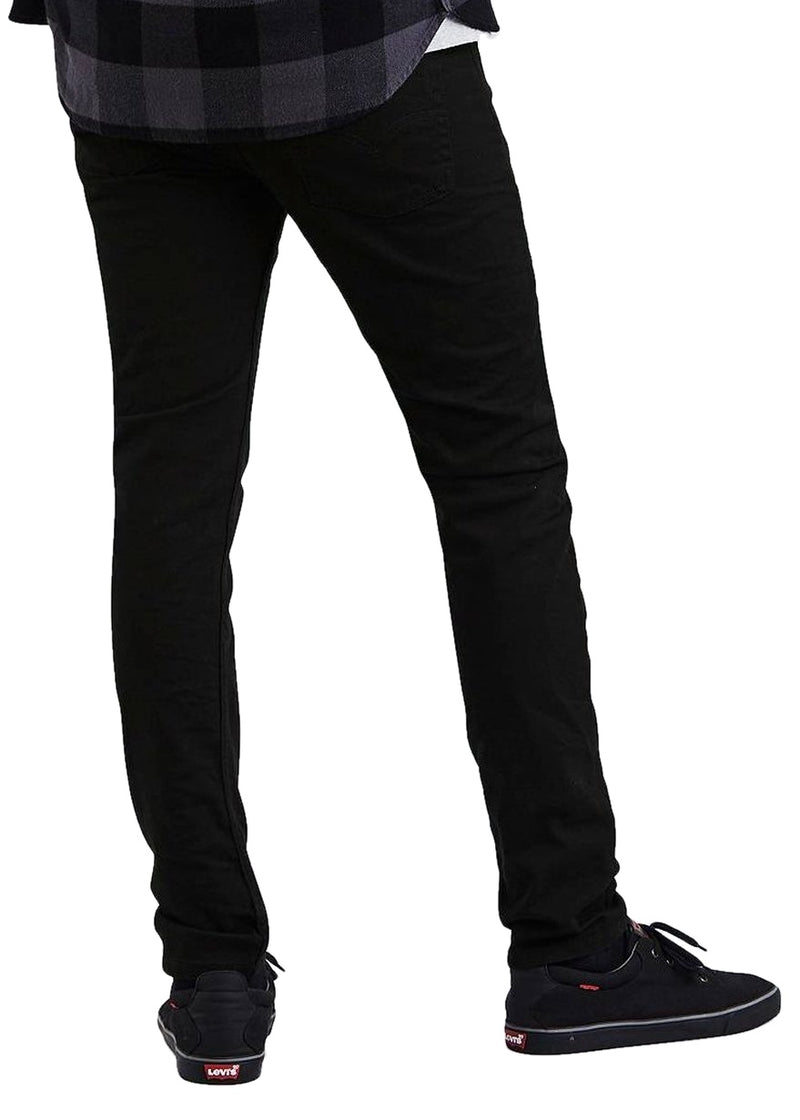 Levi's 510 Skinny Fit (Jet/Black) - ChicStyle