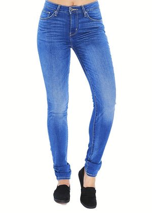 Levi's 721 High Rise Skinny (Blissful Blue) - ChicStyle