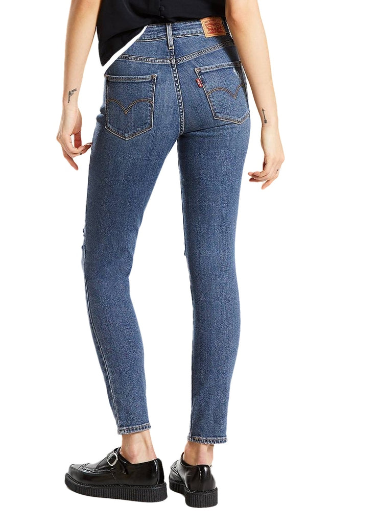 Levi's 721 High Rise Skinny (Make Or Break/Blue) - ChicStyle
