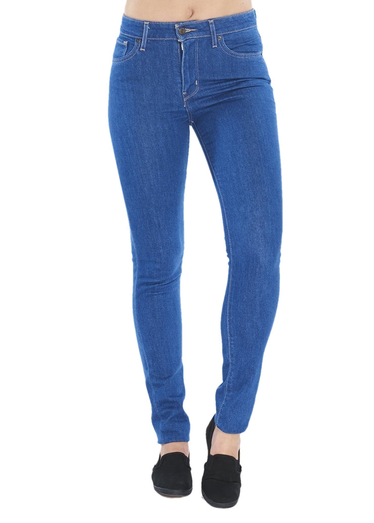 Levi's 721 High Rise Skinny (Uptown Indigo/Blue) - ChicStyle