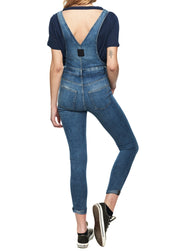Cheap Monday Dungaree Spray (Blue) - ChicStyle
