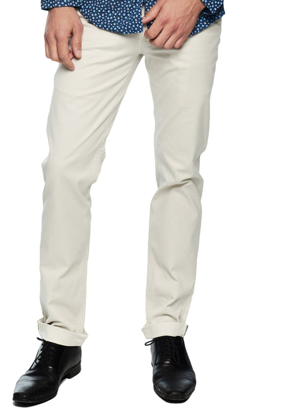 Ben Sherman Slim Stretch Chino (Light Putty) - ChicStyle