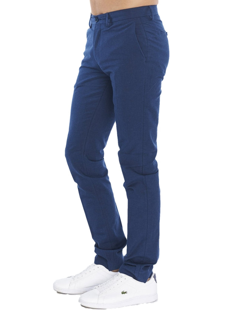 Ben Sherman Slim Stretch Chino (Blue) - ChicStyle