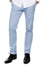 Ben Sherman Slim Stretch Chino (Light Blue) - ChicStyle