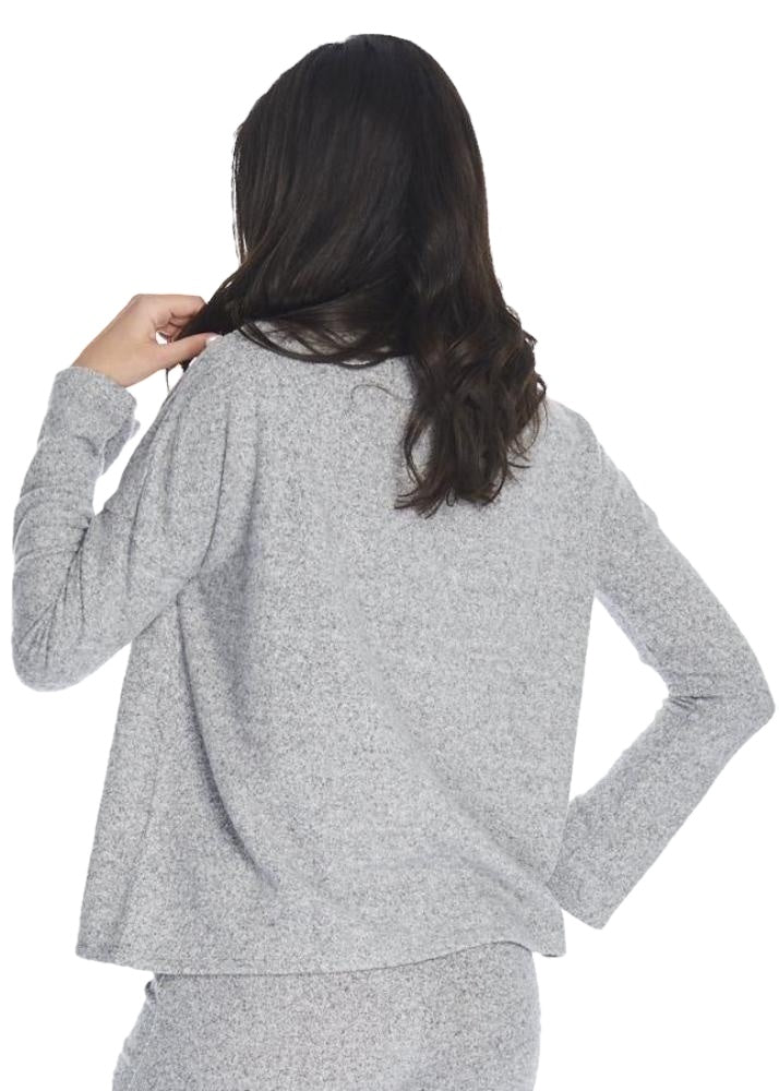 Just Female Lucien Blouse (Light Grey) - ChicStyle