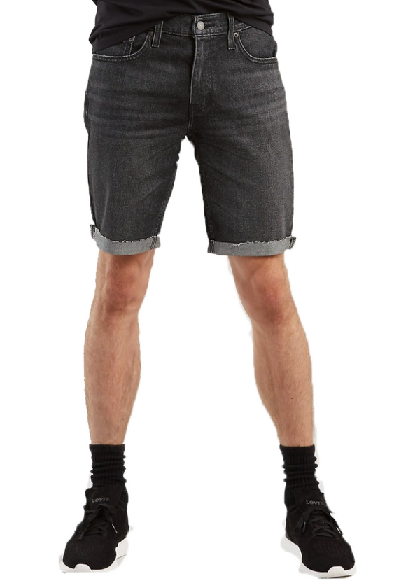 Levi's 511 Slim Cutoff Short (Blackboard Short/Black) - ChicStyle